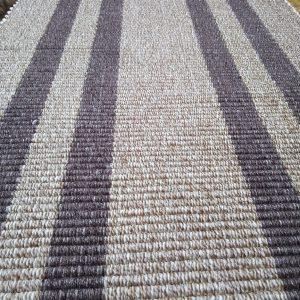 vzor nite svetlohnedé +tmavohnedé pruhy – šírka 50cm