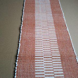 prestieranie oranžové prúžky – šírka 28cm
