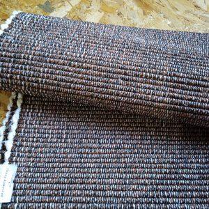 Vzor nite tmavohnedý melír – šírka 55cm