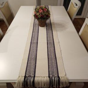 stolové prestieranie tmavofialové – šírka 35cm