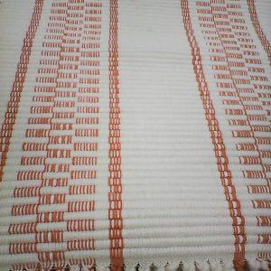 bielomarhuľková  štóla vzor nite- šírka 36cm, prestieranie