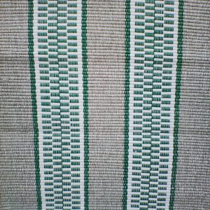 vzor nite sv.zelený so zelenými pruhmi – šírka 50 cm
