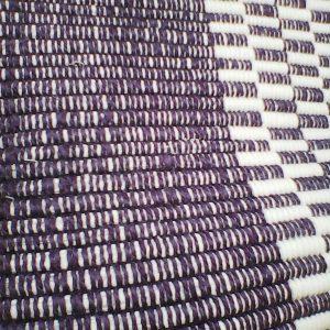Vzor nite fialový – šírka 60cm