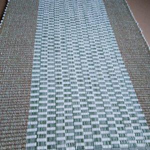 vzor nite zelené so stredne zelenými kockami – šírka  60cm