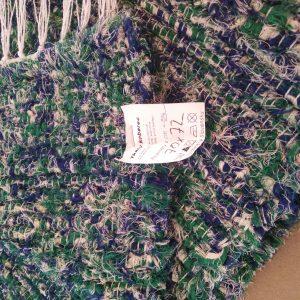 strapatý zeleno-modrý – šírka 70cm