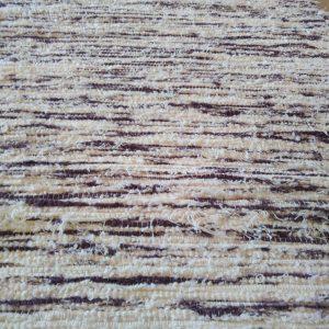 strapatý krémovo tmavofialový – šírka 70cm