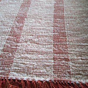strapaté s tehlovými pruhmi nití – šírka 70cm