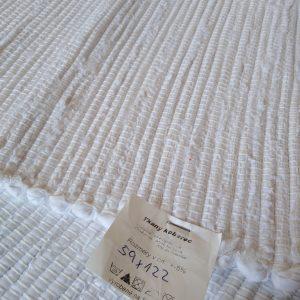 látkový  biely koberček – šírka 60cm