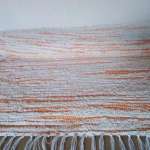strapaté krémovo oranžové – šírka 60cm