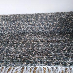 strapatý tmavozeleno-kaki, s krémovými puntíkmi – šírka 70cm