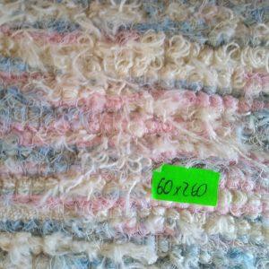 strapatý krémovo-ružovo-modrý – šírka 60cm