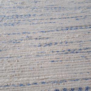 strapatý krémovo modrý – šírka 70cm