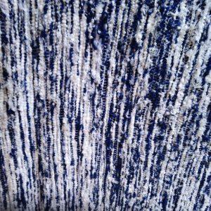 strapatý mäkkučký bielo-modrý – šírka 70cm