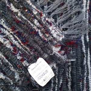 Strapatý tmavosivá-sv.sivá-bordo čiarky – šírka 100cm