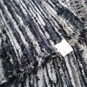 Strapatý čiernosivý – šírka 100cm