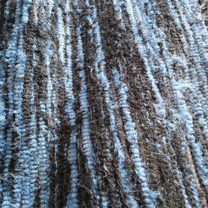 Strapatý modrosivý – šírka 100cm