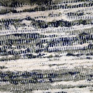 strapatý krémovo šedozelený čiernomodrý š.60