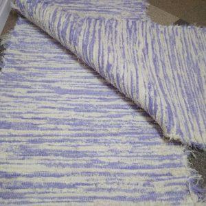 strapatý krémovo fialový š.60