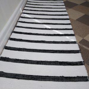 látkový bielo čierný š.60