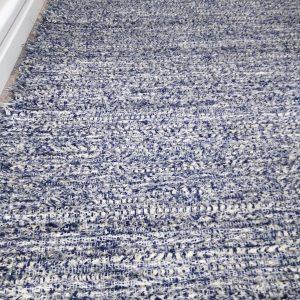 strapatý modrý š.125 cm