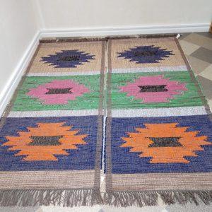 látkový koberec so vzorom š.80 cm