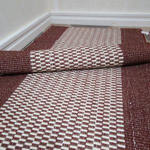 vzor nite bordohnedé – šírka 70cm