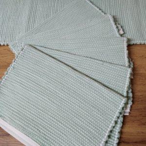 prestieranie pod taniere  zelené tm. 28 x 35 cm,