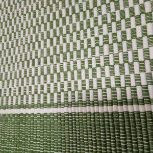 vzor nite zelený š.70 cm.