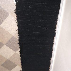 strapatý čierný š. 54 cm