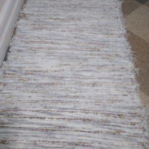 strapatý bielo-bordový š.50 cm